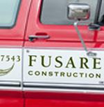 Fusare Construction Truck Signage